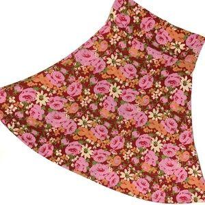 NWT LuLaRoe Azure Skirt 🌹 Slinky Soft & Comfy